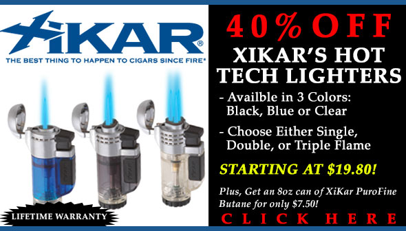 XiKar Tech Lighter Promo - 40% Off