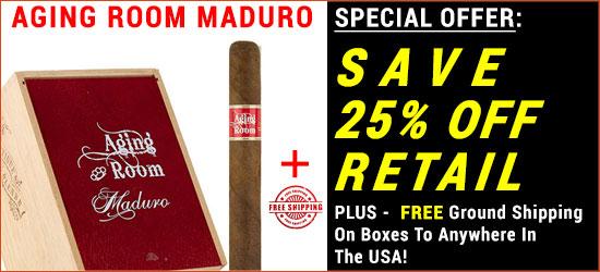 Aging Room Maduro Cigars