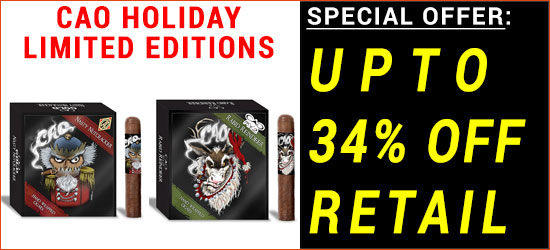 CAO Holiday Limited Edition