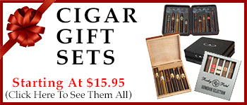 Cigar Gift Sets - Starting @ $15.95!