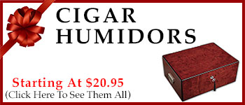 Cigar Humidors - Starting @ $20.95!