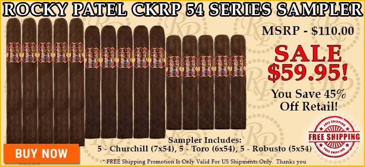 Rocky Patel CKRP 54 Series Sampler