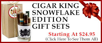 Cigar King Snowflake Gift Sets - Starting At $24.95!