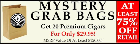 Mystery Grab Bag - 20 Cigars for $29.95!