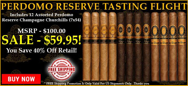 Perdomo Reserve Tasting Flight - ONly $59.95!