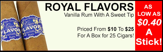 ROYAL FLAVORS CIGARS
