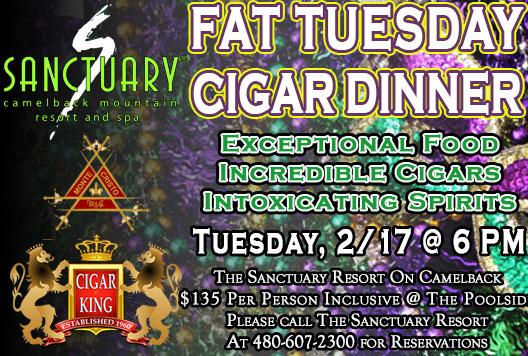 Cigar King Scottsdale Events