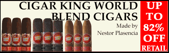Cigar King World Blend Blowout