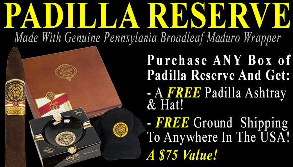 Padilla Reserve Special Offer