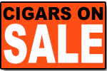 Buy cigars on sale